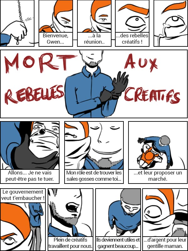 Les Rebelles Créatifs - page 9