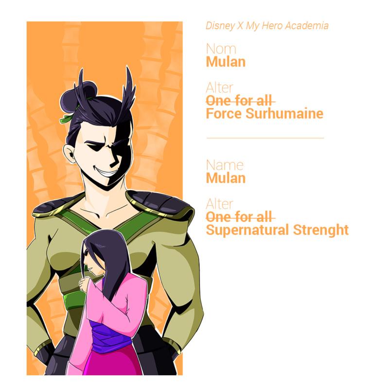 Mulan peut prendre une forme surpuissante