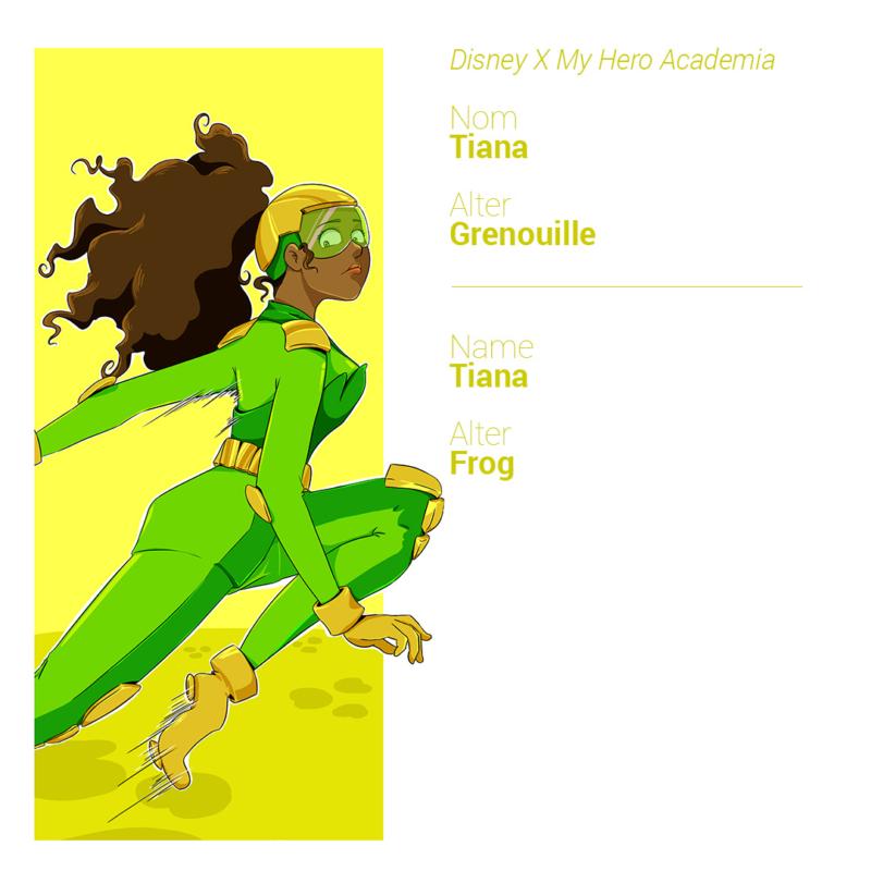 Tiana a les capacités physiques d'une grenouille