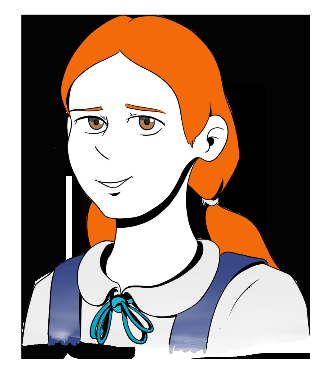 Gwen, un personnage du Café des Récits