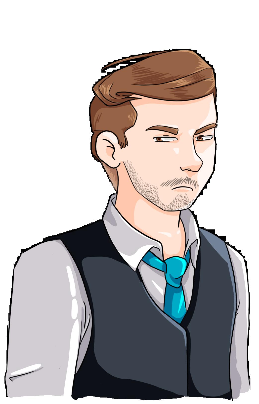 Mathieu, un personnage du Café des Récits