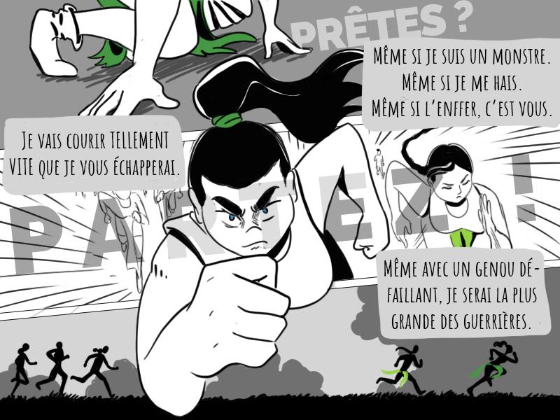 La course des guerrières - page 6